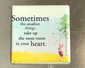 Sometimes the smallest things... Custom made 1.5 X 1.5 magnet