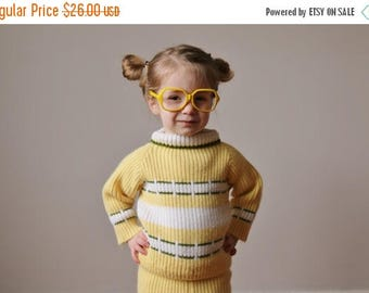 SPRING SALE 1950s Spring Knit Set~Size 2t