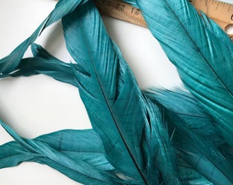 COQUE TAIL FEATHERS Loose / Satin Oasis Green / 192