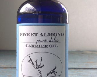 ON SALE - Sweet Almond Oil - Aromatherapy - Carrier Oil