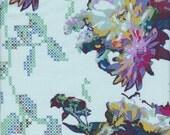 Free Spirit Fabrics Anna Maria Horner Mod Corsage Memory in Float - Half Yard