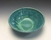 Teal Small Serving Bowl