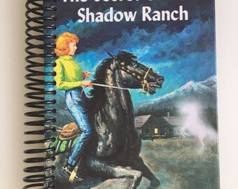 Nancy Drew - The Secret of Shadow Ranch-Book Journal/Sketchbook