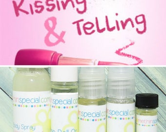 Kissing & Telling Perfume, Perfume Spray, Body Spray, Perfume Roll On, Perfume Oil, Dry Oil Spray, You Choose the Product