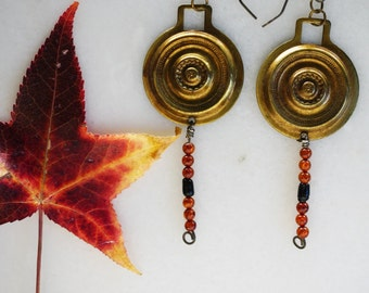 Vintage Ledville Hardware earrings