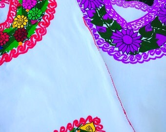 Cinco di Mayo, Oaxaca Mexican blouse, Mexican Embroidered top,