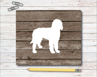 Mouse Pad, Mousepad, Goldendoodle, Office Mousepad, Desk Mouse Pad, Mouse Mat, Office Accessories, Pets, Dog Mouse Pad, Gift for Dog Lover