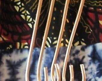 Copper Garden Plant (S) Hooks. Heavy Duty Copper Hangers. Copper S Hooks. Pan Hooks. Pot Rack Hangers.