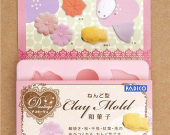 168477 mold for japanese clay sweets Wagashi