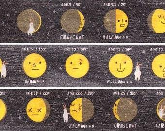 190323 moon lunar eclipse mt Washi Masking Tape deco tape