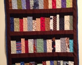 "Book case quilt, 22""x28"", 4 shelf book case, library quilt, machine quilted"