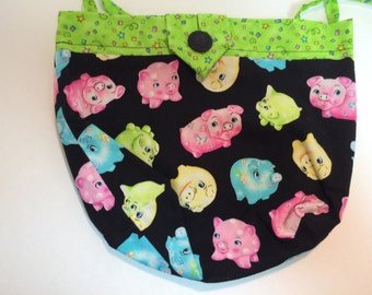 When Pigs Fly Sidekick Knitting Pouch Fanny Pack
