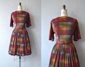 Tone Study dress | vintage 1960s dress | plaid 60s day dress