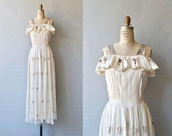 Oh Darling dress | vintage 1930s dress | formal 30s dress