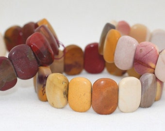 Mookaite - Mookite - Oval-Shaped Bead Bracelet for Ingenius Creativity that is also a Commercial Success
