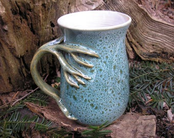 Tree  mug for the nature lover, 21 oz. capacity,  tea mug , coffee mug, handmade mug, favorite mug