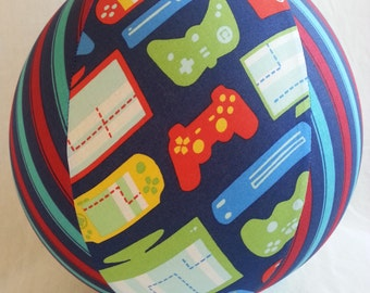 Balloon Ball - video game screen time fabric - Perfect stocking stuffer for your gamer tween