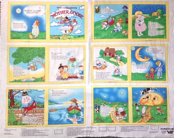 Mother goose volume one soft book panel by Mary Engelbreit