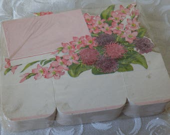 Unopened Package of Place Cards or Florist's Cards