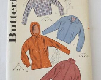 Vintage 1950s Boys Jacket Sewing Pattern Butterick 9649 Size 4 Chest 23
