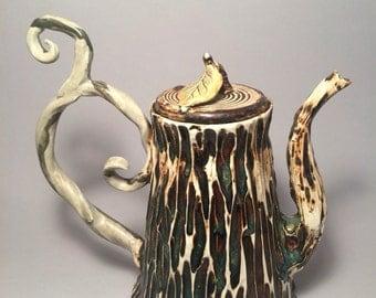 Fairy tree teapot