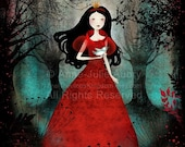 Winter Sale 20% OFF - Enchanted Forest - Deluxe Edition Print