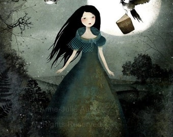 Winter Sale 20% OFF - Little Messengers - Deluxe Edition Print
