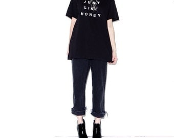 OMG HALF OFF Just Like Honey The Jesus and Mary Chain t shirt band tee band shirts band tshirts 90s shoegaze goth gothic 90s grunge