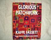 COUPON Code Sale - Destash Book, Kaffe Fassett, Glorious Patchwork, Quilting Book
