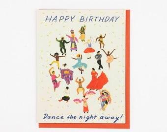 Dancing Birthday Card