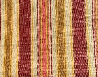 1/2 yard of premium Cotton fabric - stripped.  (132FH)