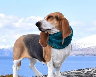 Basset Hound Snood, Knit Dog Snood, Snood for dogs, Dog lover gift, dog snood, basset snood, dog scarf, winter gift for dog, basset