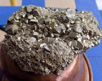 Iron Pyrite with Quartz