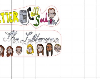 The Leftovers & Better Call Saul stickers for Tabitha