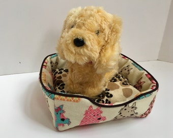 Fluffy Pet Bed - Multi Dog 18 Inch Doll Clothes Accessories