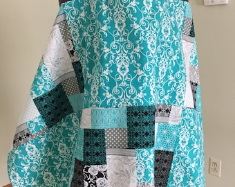 Breastfeeding Cover - Nursing Cover - Teal Cover