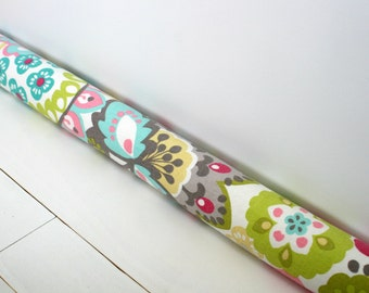 Draft Stopper - Child's Bedroom Decor - Door Snake - Whimsical Nursery Decor - Pastel Floral Door Snake. 16