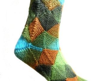Fairytale socks Forest, size EU 41-42/UK 9-9.5/US 11-11.5