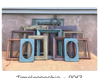 PICTURE FRAME Set - Picture Frames - Rustic Picture Frame - Wooden Picture Frames - Wood Picture Frame - Photo Frame - Wall Gallery Frames