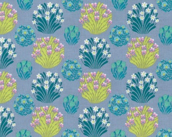 Amy Butler Fabric Splendor Collection Zen Garden in Mist, Choose your cut