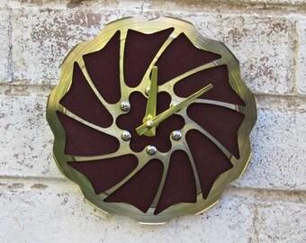 Recycled Magura Bicycle Disc Brake Wall Clock