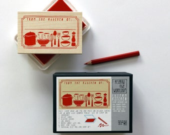 """ON SALE! """"From The Kitchen of"""" Stamp Activity Kit"""