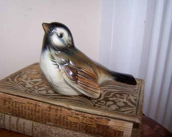 Goebel Figurine, Goebel Bird, Porcelain Figurine, CV 72 CV-72, West Germany, Brown Bird,