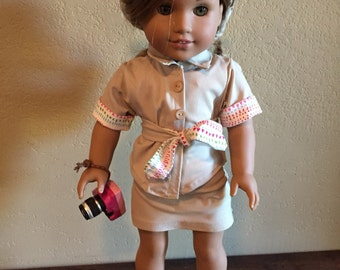 18 Inch Doll Clothes Lea Inspired Explorer Outfit