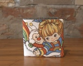 Rainbow Brite Single Fold Wallet Recycled