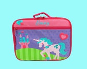Personalized Stephen Joseph UNICORN Lunchbox