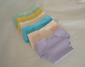 """15"""" Baby Doll/Half Dozen Diapers/Made to fit 15"""" bitty baby dolls/READY TO SHIP"""