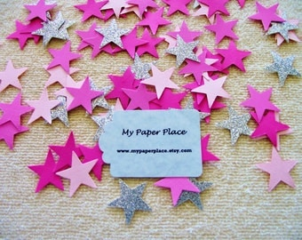 Twinkle Twinkle Star Confetti -Shades of Pink Confetti-Wedding Confetti-Gender Reveal Confetti- Shower Decoration-Party Decor-Table Scatter