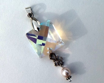 Pendant , Prism with Pearl