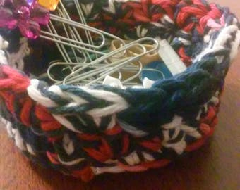 Nesting Bowls, Crochet bowls, Storage, Individual Bowl, Anything Bowl